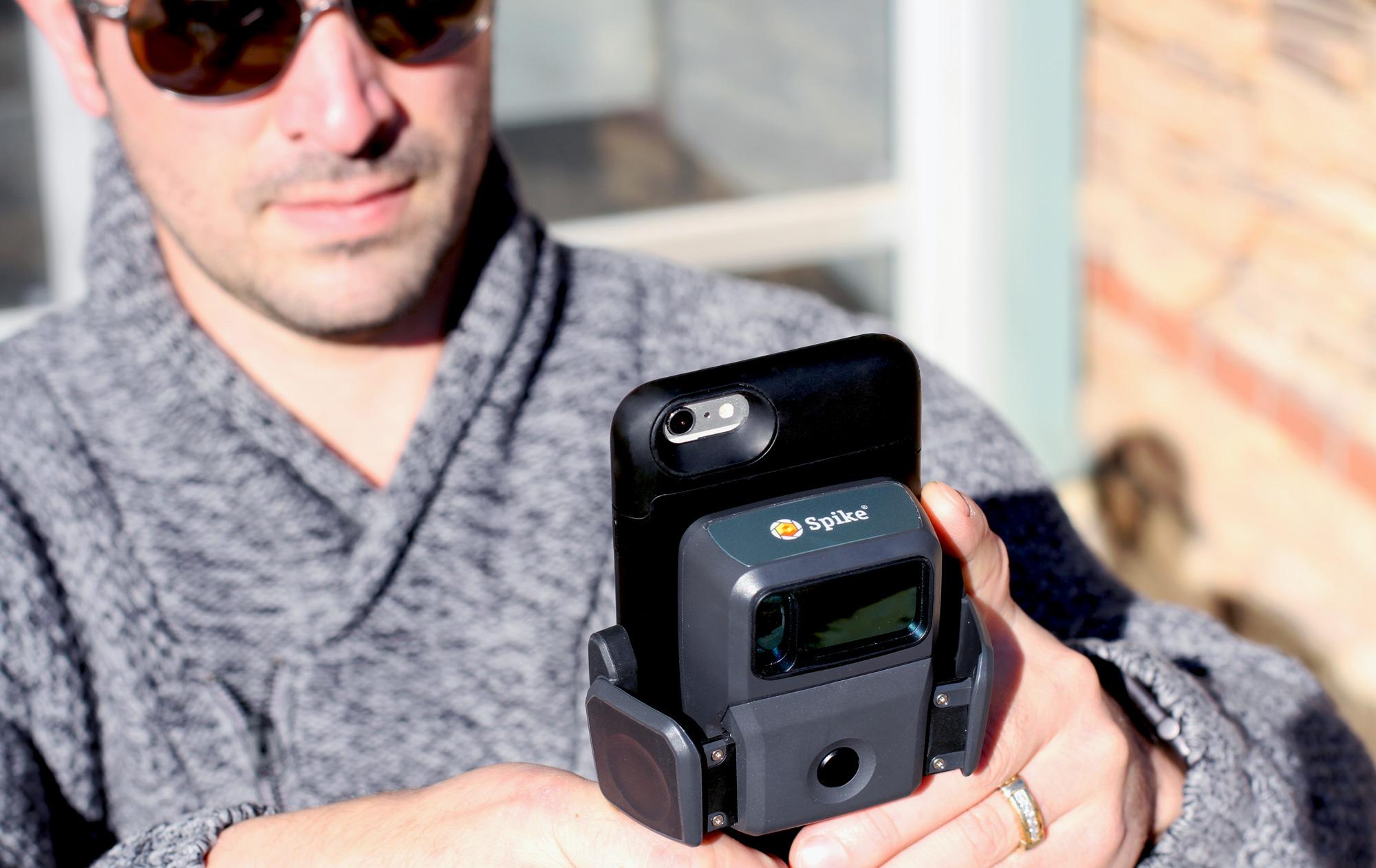 Измерване на обекти от разстояние със Spike и смартфон